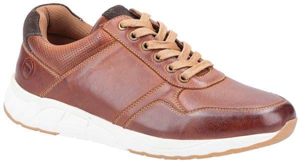 Cotswold Hankerton Lace Mens Shoes Brown